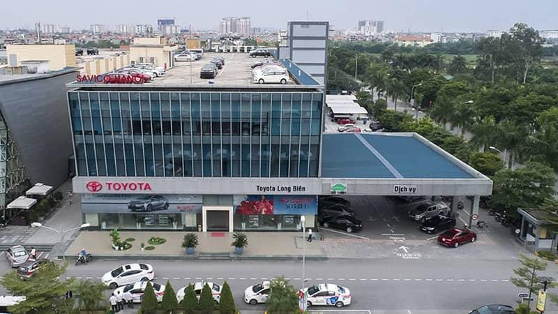Giới thiệu đại lý Toyota Long Biên