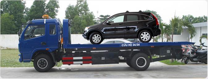 Xe cứu hộ của Toyota Long Biên
