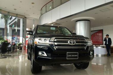 Ảnh xe Toyota Land Cruiser 2018