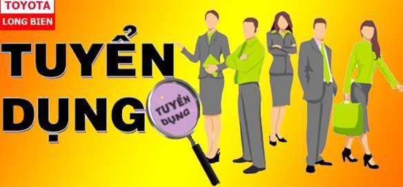 Toyota Long Biên tuyển dụng