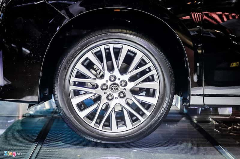 Ảnh xe Toyota Alphard 2018