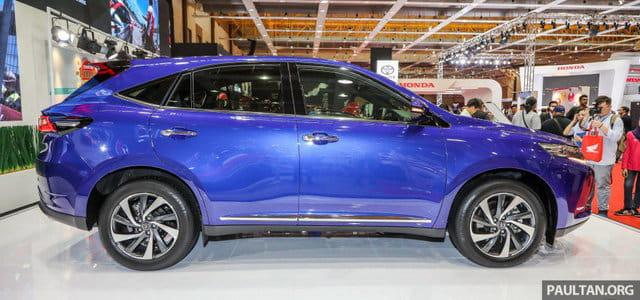 SUV 5 chỗ Toyota Harrier 2018 tại Malaysia, không còn là phiên bản giá rẻ của Lexus RX