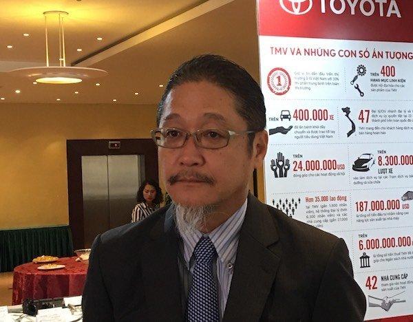 TGĐ Toyota VN: Áp dụng sớm mức giá ôtô năm 2018 không vì mục tiêu ngắn hạn