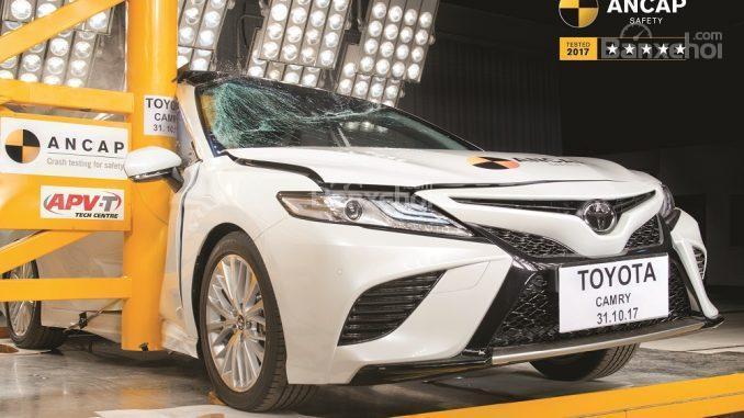 Toyota Camry 2018 được đánh giá an toàn tối đa từ ANCAP