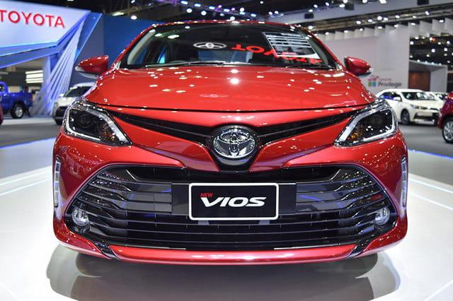 Toyota Vios 2018 hé lộ nhiều nâng cấp mới dành cho thị trường Ấn Độ
