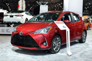 Toyota Yaris 2018 trình diện tại triển lãm Dubai Motor Show 2017