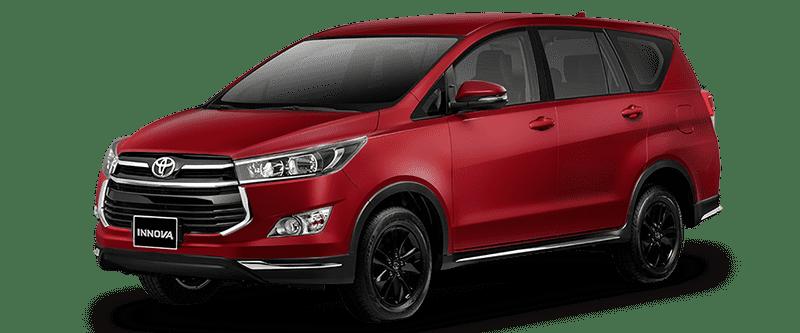 Toyota Innova 2018 Màu Đỏ Anh Kim 3R3