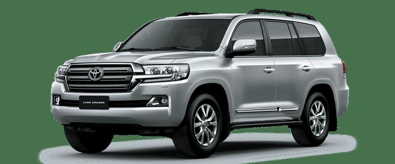 Toyota Land Cruiser 2018 Màu Bạc 1F7