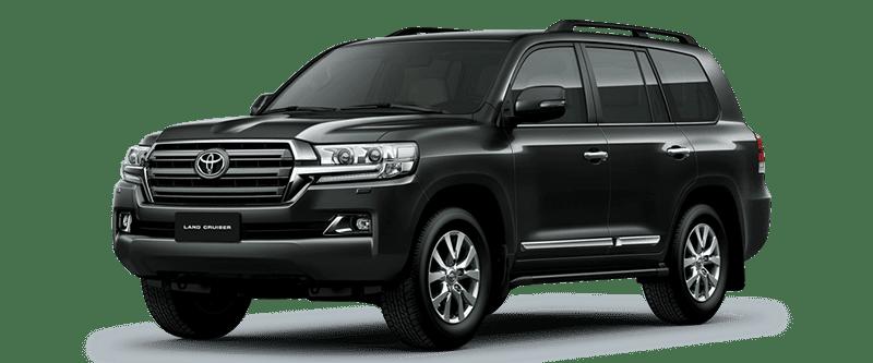 Toyota Land Cruiser 2018 Màu Đen 202
