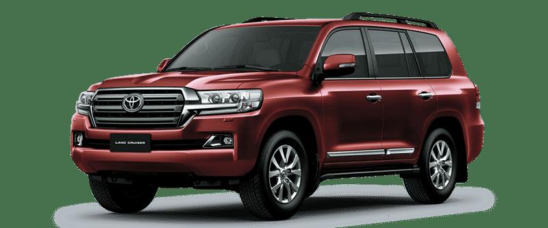 Toyota Land Cruiser 2018 Màu Nâu Đỏ 4S6