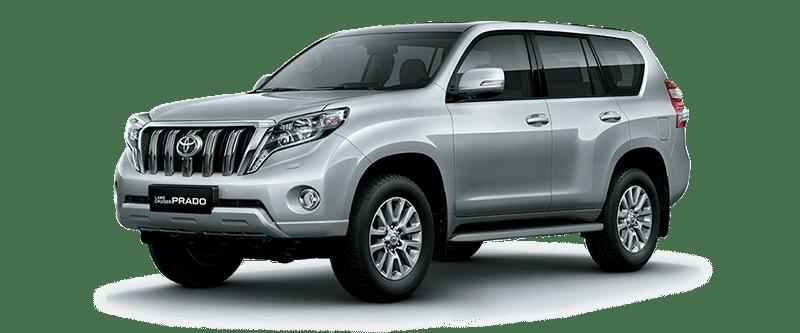 Toyota Land Cruiser Prado 2018 Màu Bạc 1F7