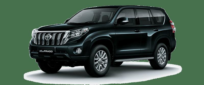 Toyota Land Cruiser Prado 2018 Màu Đen 202