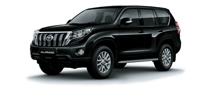 Toyota Land Cruiser Prado 2018 Màu Đen 218