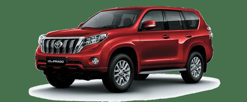 Toyota Land Cruiser Prado 2018 Màu Đỏ Ánh Kim 3R3