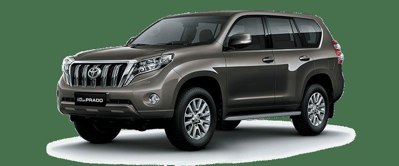 Toyota Land Cruiser Prado 2018 Màu Đồng Ánh Kim 4T3