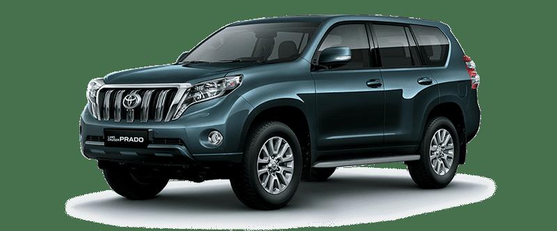 Toyota Land Cruiser Prado 2018 Màu Ghi Đậm Ánh Xanh 1H2