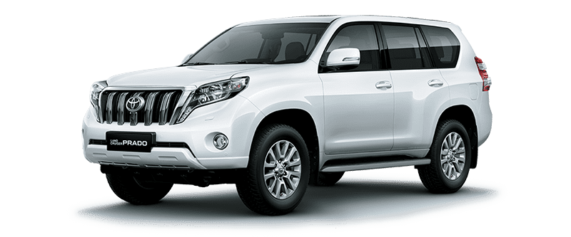 Toyota Land Cruiser Prado 2018 Màu Trắng 040