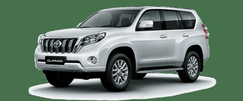 Toyota Land Cruiser Prado 2018 Màu Trắng Ngọc Trai 070