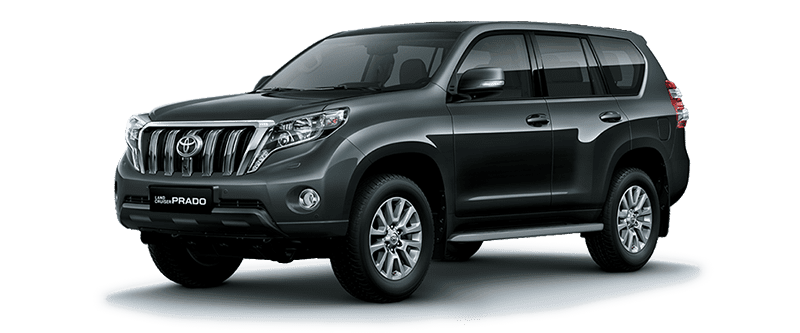 Toyota Land Cruiser Prado 2018 Màu Xám Đậm 1G3