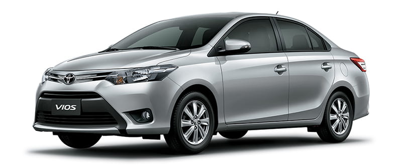 Toyota Vios Màu Bạc 1D4