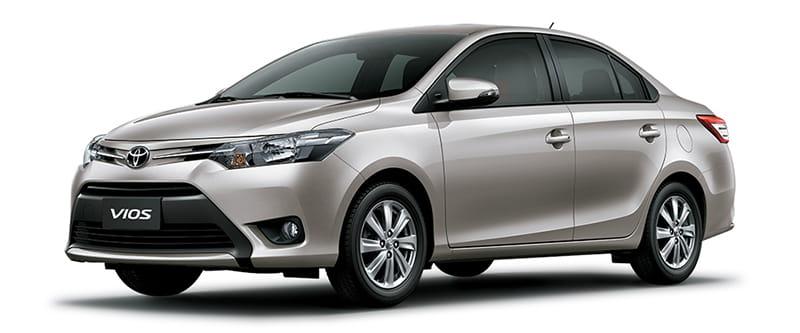 Toyota Vios Màu Nâu Vàng 4R0