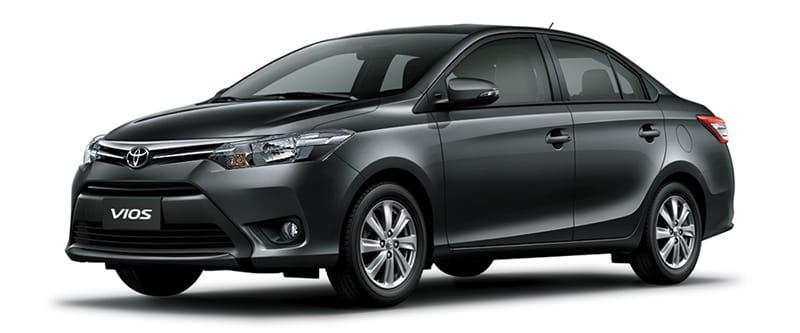 Toyota Vios Màu Xám Đậm 1G3