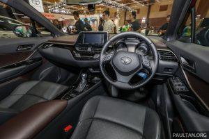 Toyota C-HR lộ giá bán từ 809 triệu đồng tại Malaysia