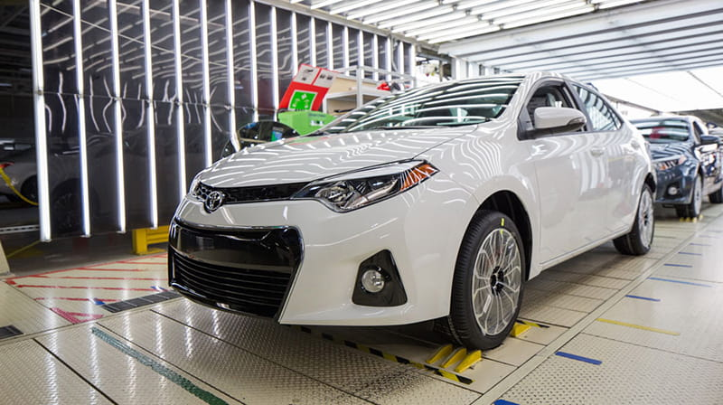 Toyota Corolla cán mốc sản xuất 1 triệu xe tại Mỹ