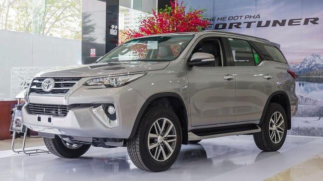 Toyota Fortuner khan hàng vì vướng nghị định 116 của Chính Phủ