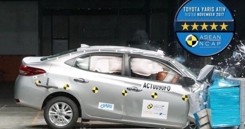 Toyota Vios 2018 được đánh giá 5 sao an toàn