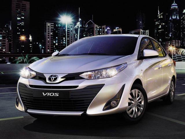 Toyota Vios 2018 ra mắt, giống hệt Yaris Ativ