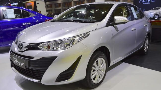 Toyota Yaris bản sedan thế hệ mới tại Đông Nam Á