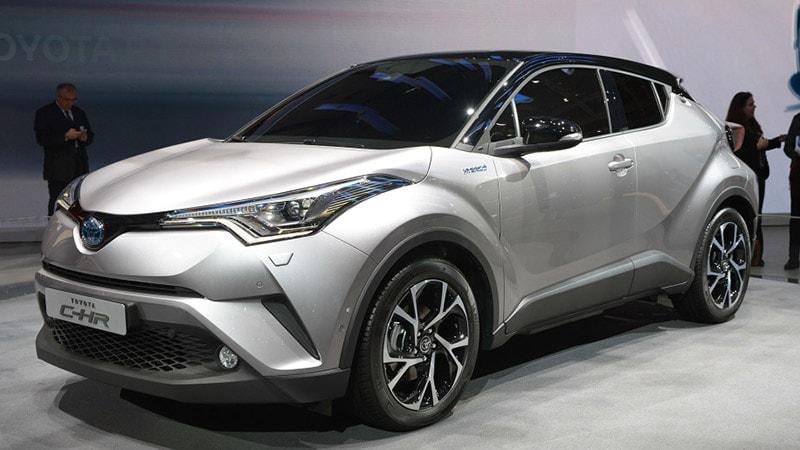 Toyota C-HR - SUV bán chạy nhất thị trường Nhật Bản năm 2017
