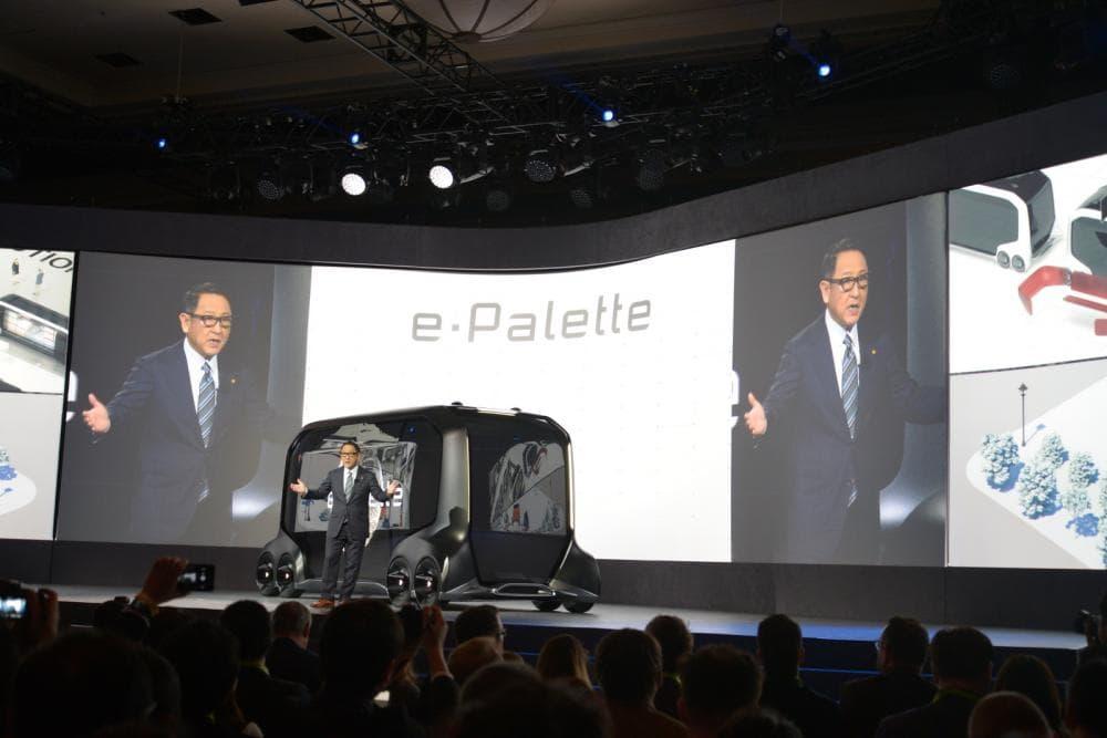 Toyota công bố concept xe tương lai e-Palette