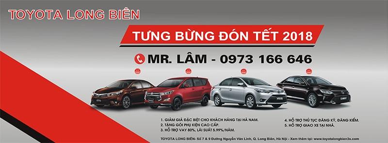Toyota Long Biên tri ân khách hàng tại Hà Nam