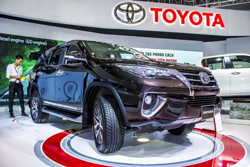 Toyota Fortuner trở lại Việt Nam vào tháng 6/2018