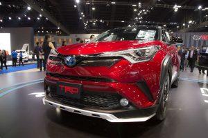 Toyota C-HR phiên bản TRD có giá 984 triệu đồng tại Thái Lan