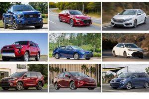 Toyota Camry được bình chọn là loại xe bền nhất!
